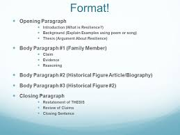 Research Paper Presentation Template Guide To Writing A Thesis