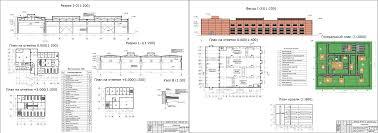 Курсовые и дипломные проекты промышленные здания скачать dwg  Курсовой проект Механосборочный цех завода среднего машиностроения 138 5 х 72 0 м