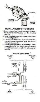 wiring diagram for old chrome clamp on turn signal the h a m b Turn Signal Switch Diagram signal wiring universal jpg turn signal switch wiring diagram
