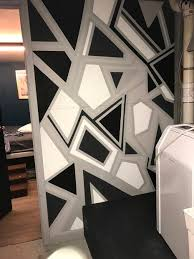 geometric wall paintGeometric Wall Paint  7 Steps with Pictures