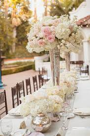White wedding centerpieces Beautiful Outdoor White And Pink Roses Tall Wedding Centerpieces Deer Pearl Flowers 20 Truly Amazing Tall Wedding Centerpiece Ideas Deer Pearl Flowers