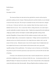 Essay About The American Dream Good Writing Essay New World