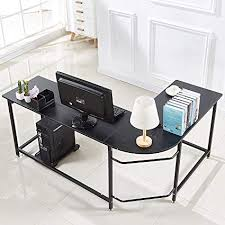 Wood and metal computer desk Design Image Unavailable Value City Nj Furniture Amazoncom Hago Modern Lshaped Desk Corner Computer Desk Home