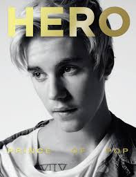 hero justin bieber covers the new issue out now hero hero 13 justin bieber covers the new issue out now