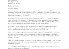 Child Care Experience Resume Childcare Cover Letter Childcare Cover