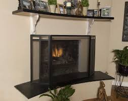Ornamental Iron Fire Place ScreensModern Fireplace Screens