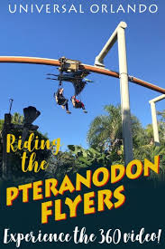 flyers orlando pteranodon flyers ride at universal orlando pov 360 video