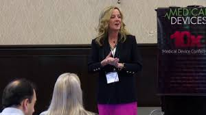 Legacy MedSearch CEO Paula Rutledge at the 10x Medical Device ...