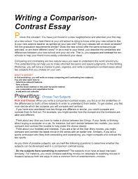 Writing A Comparison Contrast Essay Santa Monica Malibu