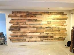 pallet wood accent wall found this for wooden accent wall diy pallet wood accent wall