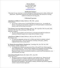 sample nursing cv template     download free documents in pdf  wordnursing cv template pdf printable