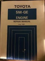 Toyota 5M-GE MANUAL | Engine, Engine Parts & Transmission | Gumtree ...