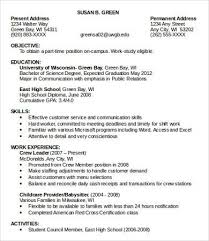 Part Time Jobs In Green Bay Magnificent Resume Part Time On Part
