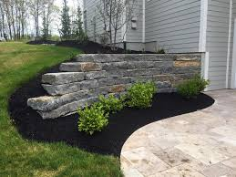 stone retaining walls for greater