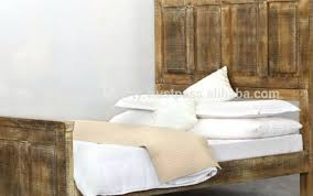 Angenehm Wood Headboard Double Bed Rustic Solid Plans Unf ...