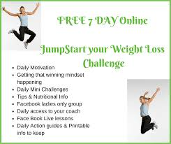 Free 7 Day Online Jumpstart Your Weight Loss Challenge