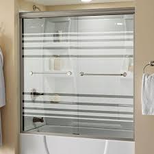 frameless bathtub shower doors patterned glass shower doors glass tub shower enclosures