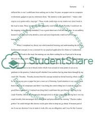 Learning Memoir Essay Example Topics And Well Written