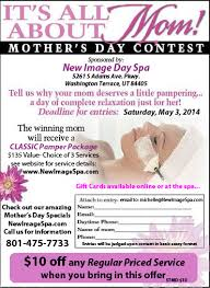 mother s day contest new image day spa mother s day contest