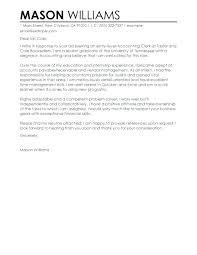 Accounting Clerk Cover Letter Sample Resume Accounting Clerk Cover Letter Example Accounting Staff