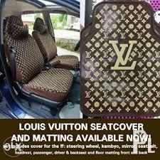 louis vuitton car seat cover matting
