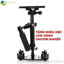 Shop bán Tay cầm chống rung cơ gimbal cơ S40 chống rung cho điện thoại,  camera hành trình, camera dslr nhỏ gọn full phụ kiện bảo hành 12 tháng