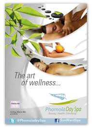 Spa Banner Design Bold Playful Business Poster Design For Phomola Day Spa By