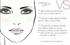 victoria secrets makeup step by step
