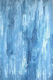 abstract painting minimalist modern grey blue color field art large canvas 36x24 elston on