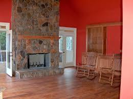 diy faux wood fireplace screen