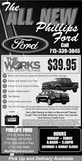 ford works works fuel saver package phillips ford phillips wi