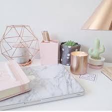 interesting office supplies. Idea Office Supplies. Interesting Rose Gold Supplies Marble Decor Desk Ideas Inside