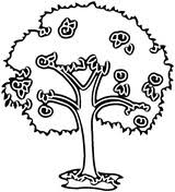 Small Picture Pear Tree coloring page Free Printable Coloring Pages