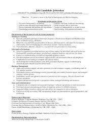 medical technologist resume examples samples