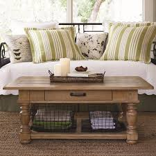 paula deen by universal down home coffee table with basket storage basketball co