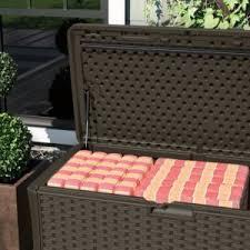 suncast extra large deck box storage large deck box56