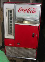 Antique Vending Machines Delectable Coca Cola Vintage Vending Machine Vendo Coke Model H48A Works Fine