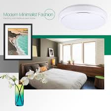Light Bedroom Colors 18w Natural Warm White Round Led Flush Mounted Ceiling Down Light
