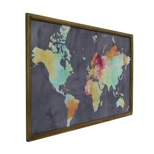 map of decor world map wall decor painting sawdust hobby lobby plosweak site with
