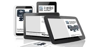 manuals and documents raymarine on your tablet