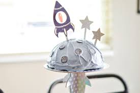 Diy Cricut Cake Topper Kids Space Party With Your Cricut Maker