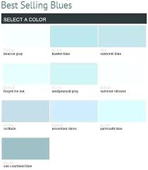 Shades Of Blue Paint Color Chart Different Paint Shades Of Blue Different Shades Of Blue