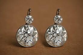 diamond earrings for 10th anniversary gift