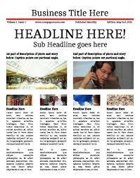 1800 Newspaper Template Print Newspapers Or Publish Online Makemynewspaper