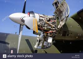 Turboprop engine of a Transall C-160 Stock Photo: 26363247 - Alamy