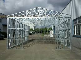 metal framing shed. As You See, The Construction Is Not A Rocket Science. If Want To Build Bigger Shed Check Out Metal Framing