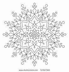 Crystal Mandala Coloring Pages Unique Circles Mandala Coloring Page