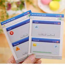diy office supplies. Creative Computer System Shape Memo Pad Diy Diary Sticky Notes Office Supplies