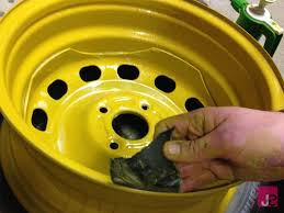 wet sanding steel wheels for smooth finish