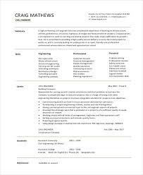 40 Simple Fresher Resume Templates PDF DOC Free Premium Stunning Resume Of Civil Engineer Fresher
